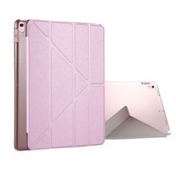 Чехол Silk Texture Deformation Flip Sleep / Wake-up розовый для iPad  Air 2019/Pro 10.5