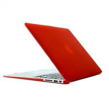 Чехол Frosted Case Red для Macbook Air 11.6