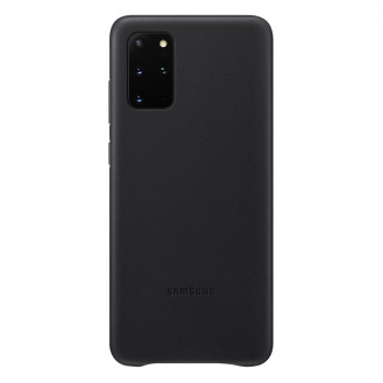 Оригинальный чехол Samsung Leather Cover для Samsung Galaxy S20 Plus black (EF-VG985LBEGRU)