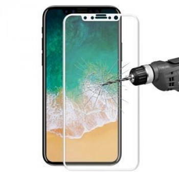 Защитное 3D стекло ENKAY Hat-Prince на iPhone X 0.26mm 9H Surface Hardness 3D белое