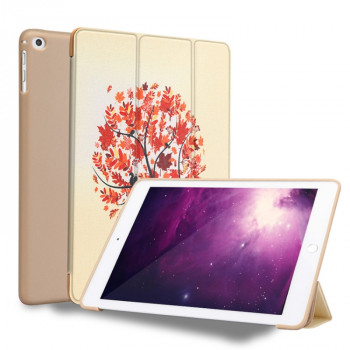 Чехол-книжка Maple Pattern на iPad 9.7 2017 / 2018 / Air 2 / Air