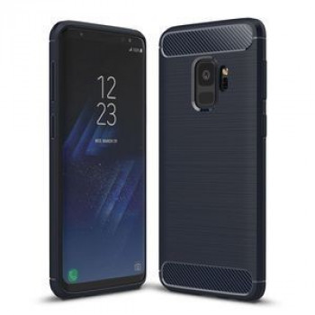 Противоударный Чехол Rugged Armor Fiber  для  Samsung Galaxy S9/G960(Navy Blue)
