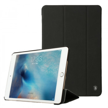 Кожаный Чехол Baseus Terse Leather Series Black для iPad mini 4