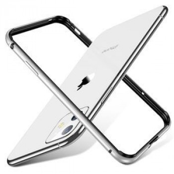 Бампер ESR Edge Guard Aluminum Alloy на iPhone 11 - серебристый