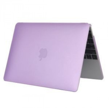 Чехол Colored Translucent Frosted Purple для Macbook 12