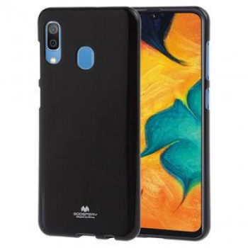 Чехол MERCURY GOOSPERY PEARL JELLY TPU Anti-fall на Samsung Galaxy A30-черный