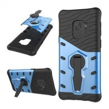 Противоударный Чехол 360 Degree Spin Tough Armor на Samsung Galaxy S9/G960(Blue)