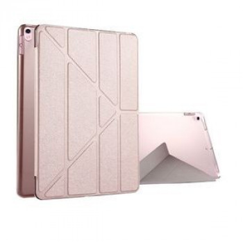 Чехол Silk Texture Deformation Flip Sleep / Wake-up Rose Gold для iPad Pro 10.5