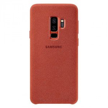Оригинальный Чехол Samsung Alcantara Cover для Galaxy S9+ Plus (G965) EF-XG965AREGRU - Red