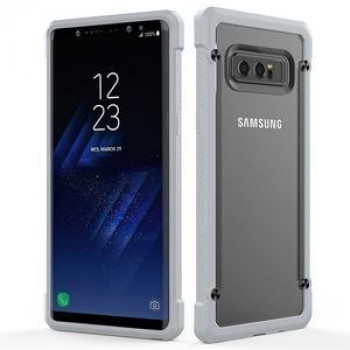 Противоударный чехол на Samsung Galaxy Note 8  Beetle Protective Back Cover Case(Grey)