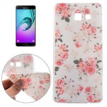 TPU Чехол Colorful Flowers Samsung Galaxy A5(2016) / A510