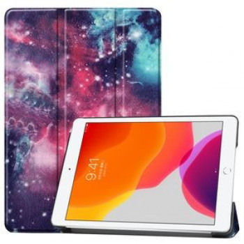 Чехол Custer Three-folding Sleep/Wake-up Silver Nebula на iPad 8/7 10.2 (2019/2020)