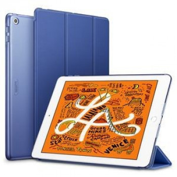 Чехол- книжка ESR Yippee Color Series Slim Fit на iPad Mini 5 2019/ Mini 4 - синий