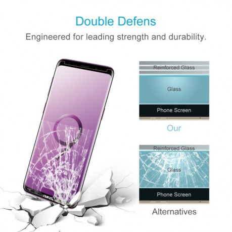 Защитное 2.5D стекло на Samsung Galaxy S9/ G960 9H Surface Hardness  Tempered Glass Front Screen Protector