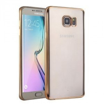 Чехол Electroplating TPU на Samsung Galaxy S6 / G920 (Gold)