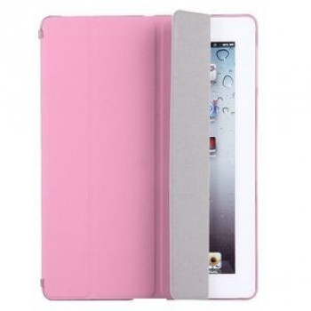 Чехол Solid Color Sleep / Wake-up Pink для iPad 4/ 3/ 2