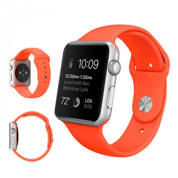 Ремешок Sport Band Orange  для Apple Watch 38/40mm
