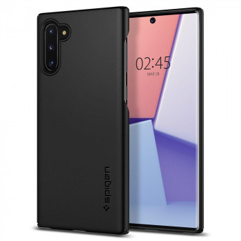 Оригинальный чехол Spigen Thin Fit для Samsung Galaxy Note 10+ Plus Black