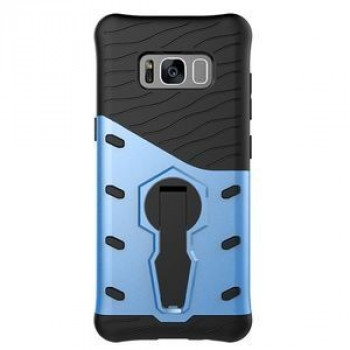Противоударный Чехол 360 Degree Spin Tough Armor на Samsung Galaxy S8/G950 (Blue)