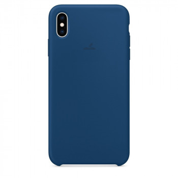 Силиконовый чехол Silicone Case Blue Horizon на iPhone Xs Max