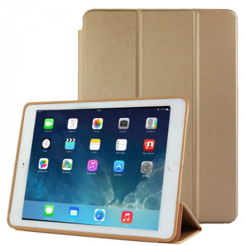 Чехол-книжка Treated Smart Leather Case  для iPad Air 2 - золотой