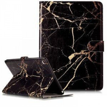 Кожаный Чехол Colored Painting Wallet Black Marble для iPad Air 2