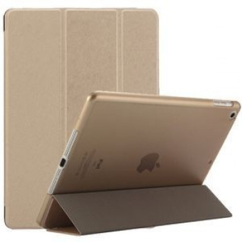 Чехол Silk Texture Three-folding Gold для iPad 9.7 2017 (A1822/ A1823)