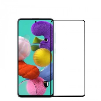 Защитное стекло 2ед. mocolo 0.33mm 9H 3D Full Glue на Samsung Galaxy A71/ Note 10 Lite/ M51 -черное