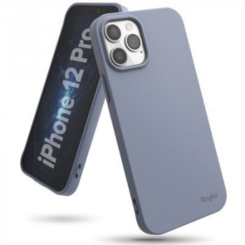 Оригинальный чехол Ringke Air S на iPhone 12 / iPhone Pro 12 - blue-grey