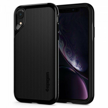 Чехол Spigen Neo Hybrid на iPhone XR black (Jet Black)