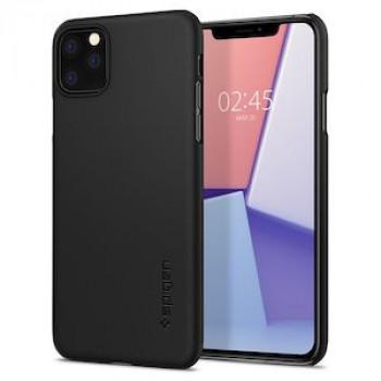 Оригинальный чехол Spigen Thin Fit iPhone 11 Pro Max Black