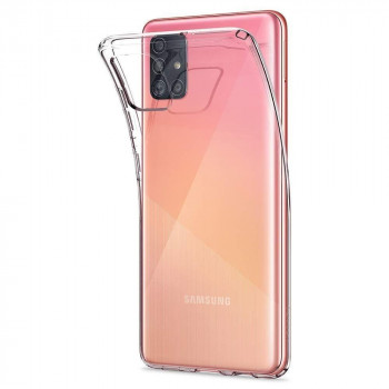 Орингинальный чехол Spigen Liquid Crystal для Samsung Galaxy A71 Crystal Clear