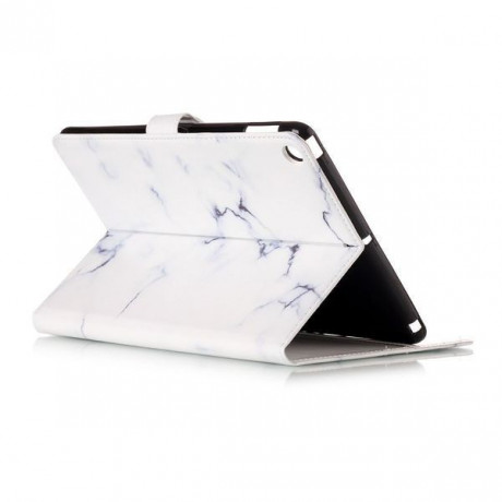 Кожаный Чехол Colored Painting Wallet White Marble для iPad 9.7 2017 А1822/ А1823