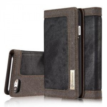 Чехол Книжка CaseMe Magnetic Jeans Dark Grey для iPhone 7/8