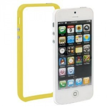 Бампер  на iPhone 5 / 5s (Yellow)
