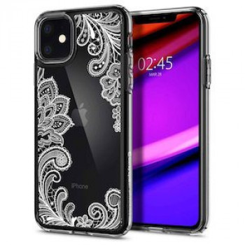Чехол Spigen Ciel by Cyrill Etoile Collection на IPhone 11 White Mandala