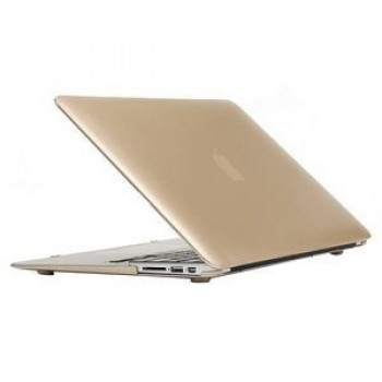 Чехол Frosted Case Gold для Macbook Air 11.6