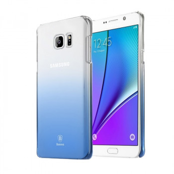 Прозрачный Чехол Baseus Gradient Blue для Samsung Galaxy Note 5