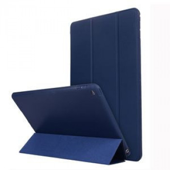 Чехол-книжка HMC Three-folding Holder на iPad 8/7 10.2 (2019/2020) - синий