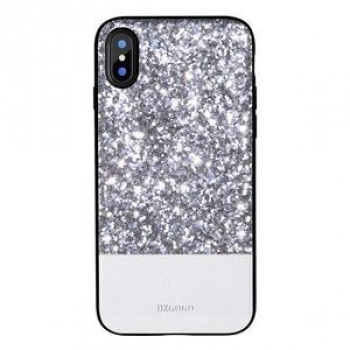 Чехол DZGOGO BLING Series для iPhone X белый