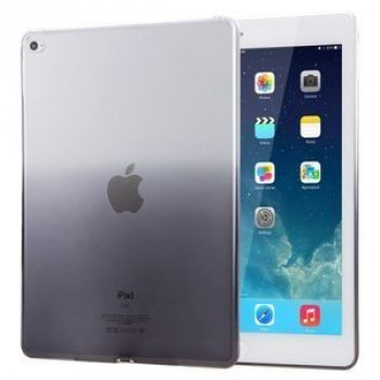 Прозрачный TPU чехол Haweel Slim Gradient Color Clear Black для iPad Air 2