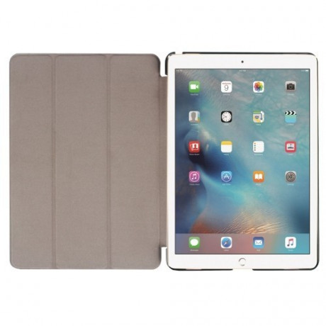 Чехол Custer Texture Three-folding Sleep / Wake-up красный для iPad Pro 9.7