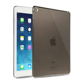 Прозрачный TPU чехол Haweel Slim Black для iPad Air 2