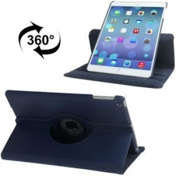 Чехол 360 Degree Litchi Texture  Case темно-синий для iPad 9.7 2017/2018/ Air