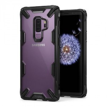 Оригинальный чехол Ringke Fusion X durable на Samsung Galaxy S9 Plus G965 black (FUSG0001-RPKG)