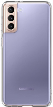 Оригинальный Чехол Spigen Liquid Crystal на Samsung Galaxy S21 Plus Crystal Clear