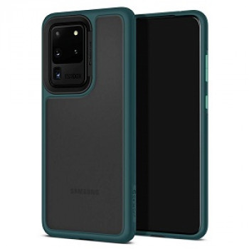 Оригинальный чехол Spigen Ciel Color Brick на Samsung Galaxy S20 Ultra Forest Green