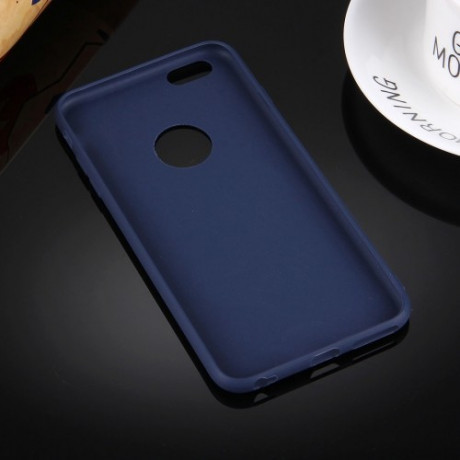 TPU Чехол Solid Color Dark Blue для iPhone 6/ 6S