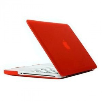 Чехол Frosted Case Red для Macbook Pro 13.3