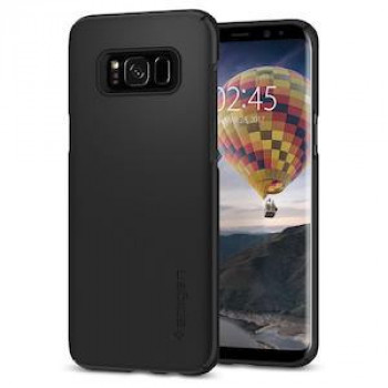 Оригинальный чехол Spigen Thin Fit на Samsung Galaxy S8 Black